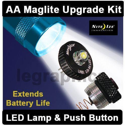 Mini Maglite Led Upgrade Ebay