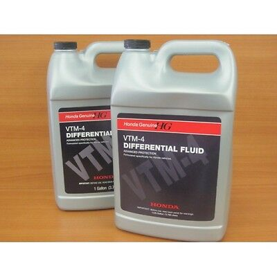 Honda vtm 4  fluid And Washer