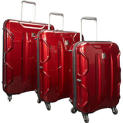 IT Luggage Shiny Victoria 3 Piece Luggage Set - Dark on Rummage