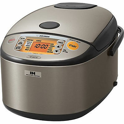 Zojirushi NP-HCC18XH Induction Heating System Rice Cooker and Warmer, 10 - CUP