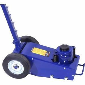 BRAND NEW 22 TON AIR/HYDRAULIC TRUCK JACK (ON WHEELS)