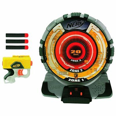 New Nerf N Strike Tech Target Dart Blaster Set Reflex Ix 1 Electronic Game