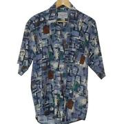 Mens Vintage Patterned Shirt