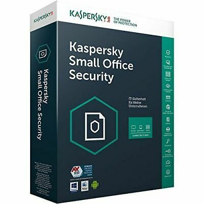 Usado, Kaspersky Small Office Security Vers. 6 1 Server + 10 PC + 10 Mobile Geräte ESD segunda mano  Embacar hacia Spain