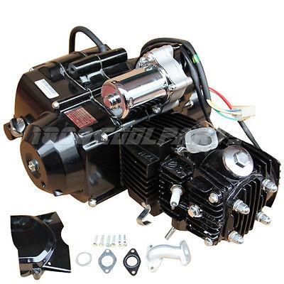 110cc Black Auto w/Reverse Engine Motor for 50cc 70cc 90cc 110cc Go Kart ATV