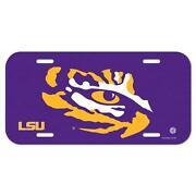 LSU License Plate
