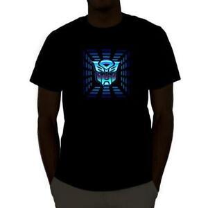 8c3fb95271a0 T-shirt LED Transformers