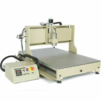 4 Axis 6090 Cnc Router Engraver Usb Engraving Desktop Milling Machinecontroller