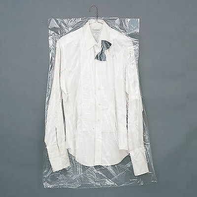 Dry Cleaning Poly Garment Bags 40  Super Clear