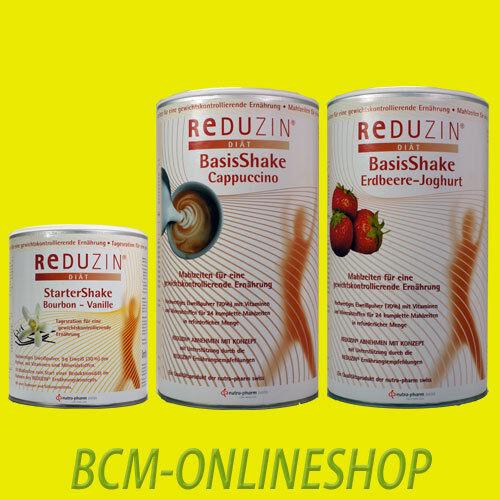 * BCM Onlineshop * 1 x Start Diät + 2 x REDUZIN BasisKost Diät Shake *