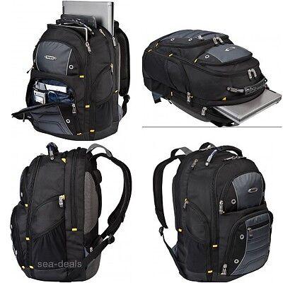 Targus Drifter II Backpack for 17-Inch Laptop, Black/Gray