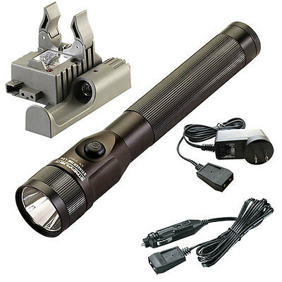 Streamlight 75832 Stinger DS LED Rechargeable Flashlight with Piggyback Charger