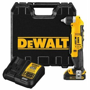 Dewalt DCD740C1  - Right Angle Drill - - like new.