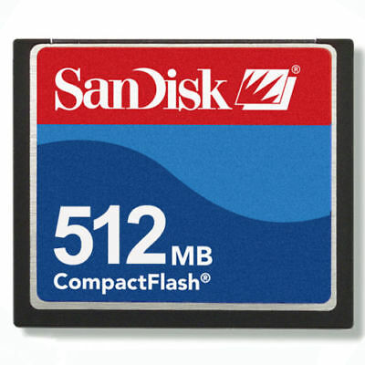 512MB SanDisk CF Compact Flash+ATA PC Adapter=512MB PCMCIA Flash Disk For flange