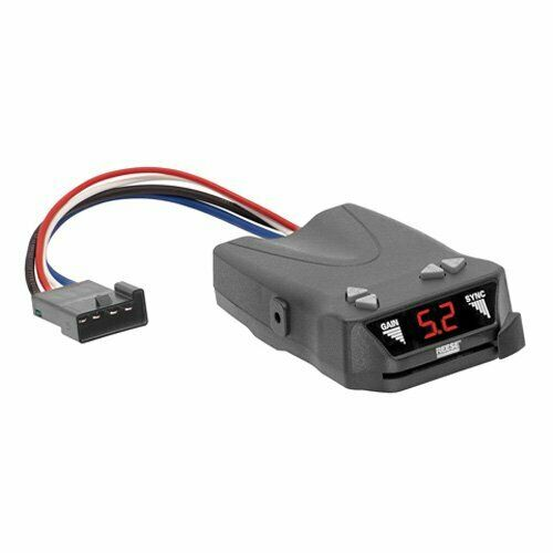 Reese (83504) Brakeman IV Digital Brake Control for 1 to 4 Axle Trailers (Tim...