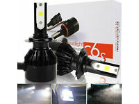 2 x C6S H7 LED HEADLIGHT 60w SMD COB HIGHPOWER BULBS SPOT FOGLIGHT LAMPS COPPER*