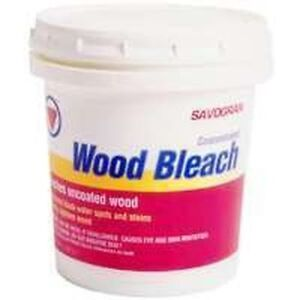 New Savogran 10501 12oz Wood Bleach Stain Remover Cleaner Oxalic Acid ...