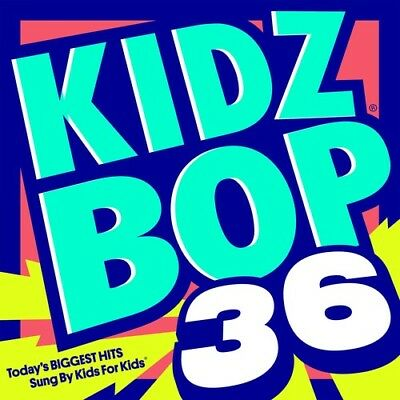 Kidz Bop Kids   Kidz Bop 36  New Cd