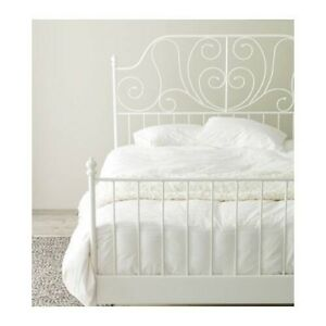 Ikea Leirvik Queen Bed Frame - Free Delivery