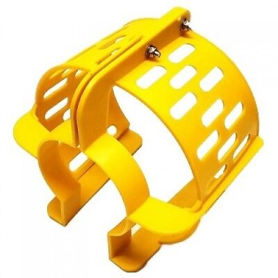 "Propeller Safety Guard 9"" Yellow Fits 9.9 thru 20hp Boat Marine Surf Outboard"