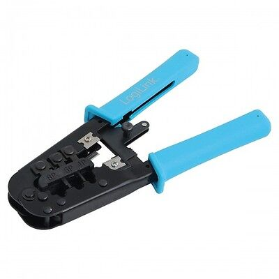 logilink crimp tool multi modular crimpzange 8/6/4p standard rj45/rj12/rj11/rj10