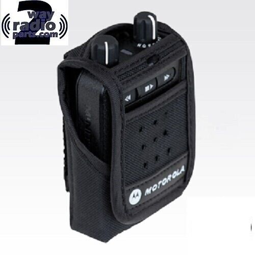 Real Motorola Minitor VI 6 Pager PMLN6725A Protective Nylon Carry Case (vhf uhf)