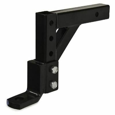 """10"""" Adjustable 4 Level Trailer Drop Hitch Ball Mount Tow for 2"""" Trailer Receiver"""