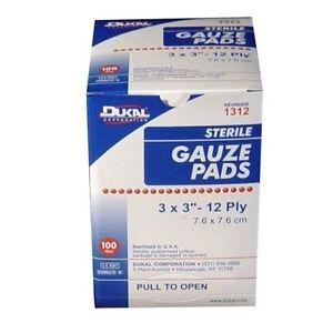 3x3 Gauze Sterile Pads | eBay  3x3 Gauze Steri...