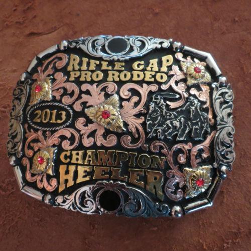 Rodeo Trophy Buckles Ebay