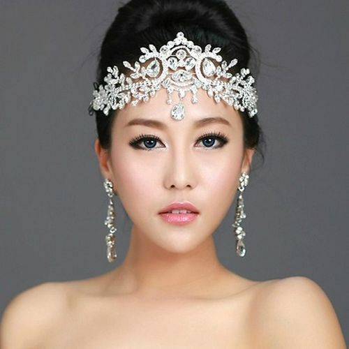 THE STRATFORD TIARA\u00a9  Bridal Headpiece Crystal Hairpiece Wedding Gold Crown