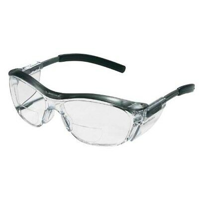 3M Reader Safety Glasses, +2.5 Diopter, Clear - M Reader