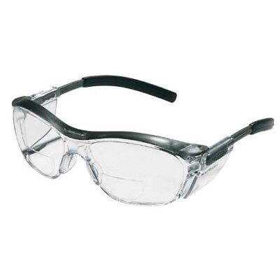3m Reader Safety Glasses 2.5 Diopter Clear Lens