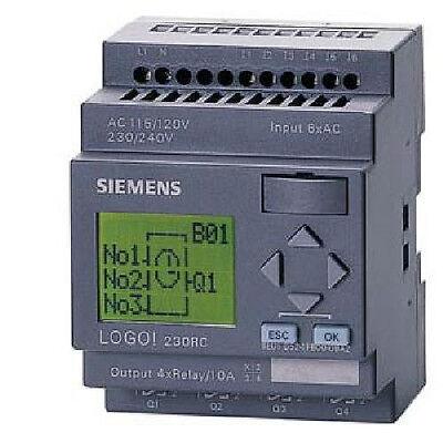 Siemens Logo 6ed1052-1fb00-0ba6 Logo 230rc Logo Soft Comfort 6