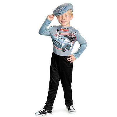 Boys Cars Costume Finn McMissle Pixar Cars 2 S M Officially Licensed Kids Child (Cars Costumes)