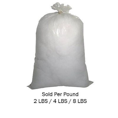 Inner Polyester Cushion Stuffing Polyfill Bag Polyester Pillow Stuffing Filling