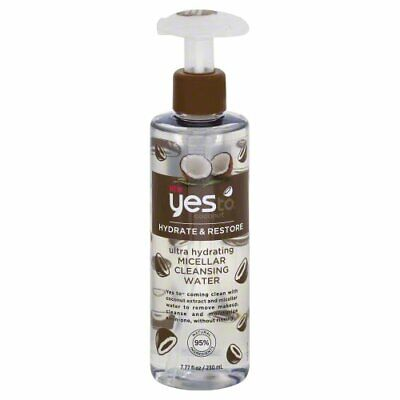 Yes to Coconut Hydrate & Restore Ultra Hydrating Micellar Cleansing Water = 7.77