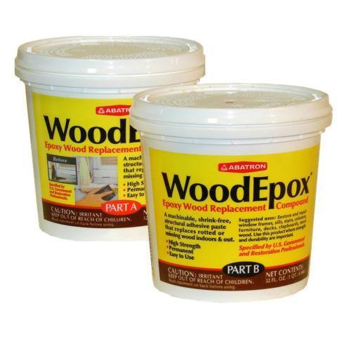Wood Epoxy Business Amp Industrial Ebay