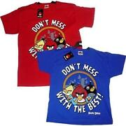 Angry Birds T Shirt Kids