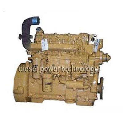 Caterpillar 3204 Remanufactured Diesel Engine Long Block Or 34 Engine