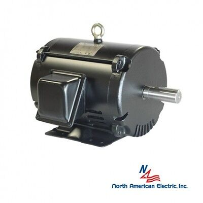 15 Hp 3 Phase Electric Motor 215t Odp 3545 Rpm Replacement For Baldor Leeson