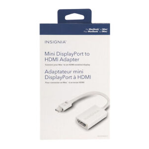10x Insignia Mini DisplayPort to HDMI Adapter (NS-PD94592-C)
