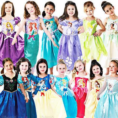 Disney Princess Costumes For Kids (Disney Princess Girls Fancy Dress Fairytale Book Week Kids Childrens)