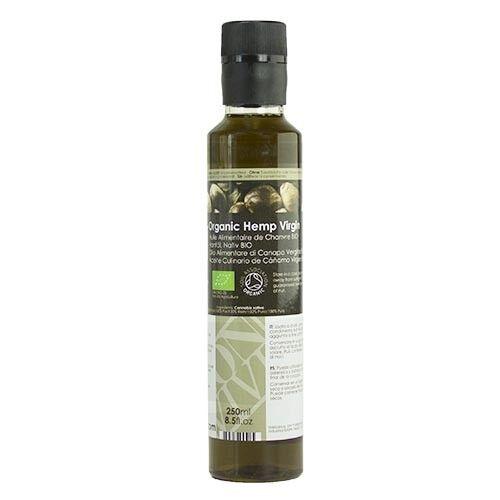 Olio Alimentare di Semi di Canapa Vergine Biologico