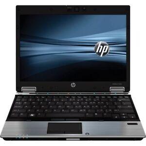 """HP EliteBook 2530 C2D 1.86GHz 4 GB 160GB 12.1"""" W10/7  WiFi"""