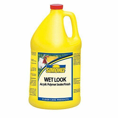 Simoniz CS0740004 Wet Look Floor Sealer and Finish, 1 gal Bottles