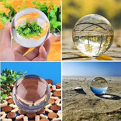 Flawless Crystal Glass Ball Decoration Quality Sphere for Photography  60mm