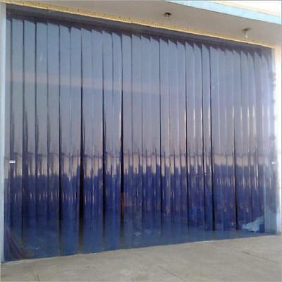 Strip Curtain Door Size 8ft Wide X 8ft Pvc Vinyl Cooler Freezer 8 Walk Indock