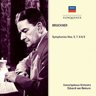 Royal Concertgebouw - Symphonies No. 5 7 8 & 9 [New CD]