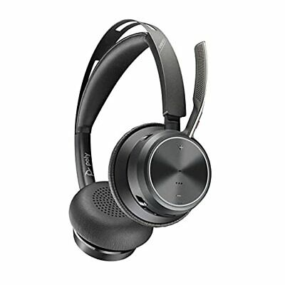 Plantronics 213729-01 Voyager Focus 2 Office Usb-a Wrls Stereo Bluetooth Headset