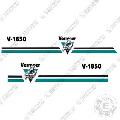 Vermeer V1850 Trencher Decal Kit